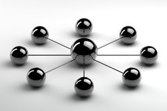 Succesful network Royalty Free Stock Photo