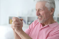 Succesful senior man Stock Photo