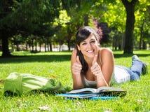 Succesful Teen Student Stock Image