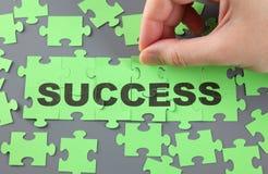 Succesraadsel Stock Foto
