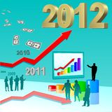 Success in 2012 Royalty Free Stock Photo