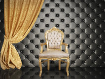 Success. Concept of success with luxurious chair Royalty Free Stock Images