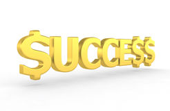 Success - 3d render Stock Photo