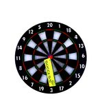 Success. Dartboard. Hitting the mark and achieving success Royalty Free Stock Photos