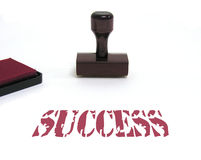 Success. A photo of a Success stamp Royalty Free Stock Images
