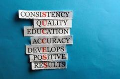 Success abbreviation Stock Image
