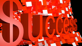 Success on abstract background Royalty Free Stock Images