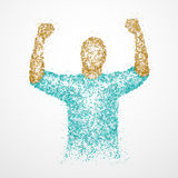Success, abstract, luck, winner Royalty Free Stock Image