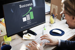 Success Achievement Accomplishment Successful Concept. Success Achievement Accomplishment Successful graphic Concept Royalty Free Stock Photography