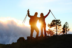 Success, Achievement And Accomplishment People Royalty Free Stock Photo