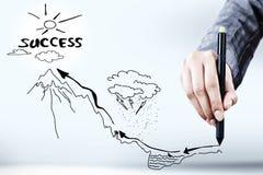 Success achievement Stock Images