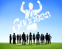 Success Achievement Winning Gain Profit Concept Stock Photo