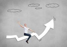 Success achieving Stock Image