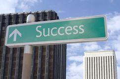 Success Ahead Stock Photography