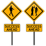 Success ahead Royalty Free Stock Images