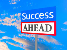 Success ahead Royalty Free Stock Photo