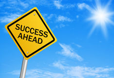 Success Ahead Royalty Free Stock Photo