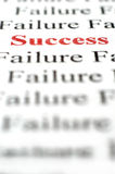 Success amongst failure Royalty Free Stock Photography