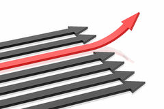 Success arrow Royalty Free Stock Image
