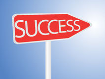 Success Arrow Royalty Free Stock Images