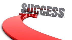 Success arrow Royalty Free Stock Photos