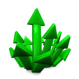 Success Arrow Royalty Free Stock Photos