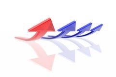 Success arrow Stock Photo