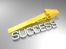 Success arrow Royalty Free Stock Photography