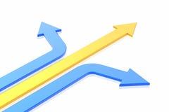 Success arrow Stock Image