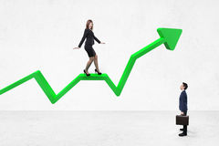 Success arrow Stock Photography