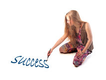 Success with art Royalty Free Stock Images