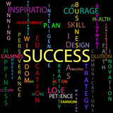 Success background Stock Photo