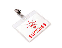 Success badge Royalty Free Stock Photography