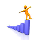 Success Balance Royalty Free Stock Photography