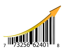 Success bar code Stock Photography