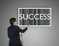 Success barcode Stock Image