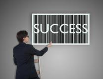 Success barcode Stock Image