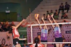 Success blocking ball Stock Photos