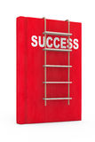 Success Book with Rope Ladder Royalty Free Stock Photos