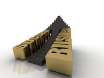 Success in business. 3d render of success in business Royalty Free Stock Image