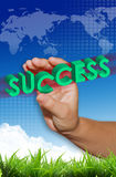 Success business Royalty Free Stock Photo