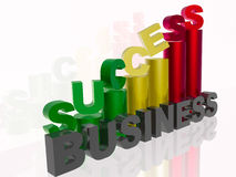 Success. In business - abstract business background Royalty Free Stock Photos