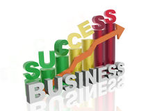 Success. In business - abstract business background Stock Photo