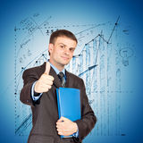 Success Business concept Royalty Free Stock Photography