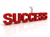 Success in business concept Royalty Free Stock Photography