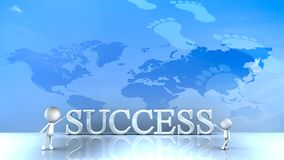 Success in business concept happy. For adv or others purpose use Royalty Free Stock Photo