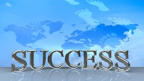 Success in business concept happy Stock Photography
