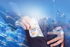 Success in business concept. royalty free stock image