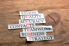 Success business definition Stock Images