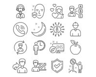 Success business, Human resources and Engineer icons. Opinion, Uv protection and Waiting signs. Vector. Set of Success business, Human resources and Engineer royalty free illustration